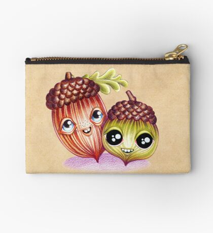 Wacky Nutties Zipper Pouch