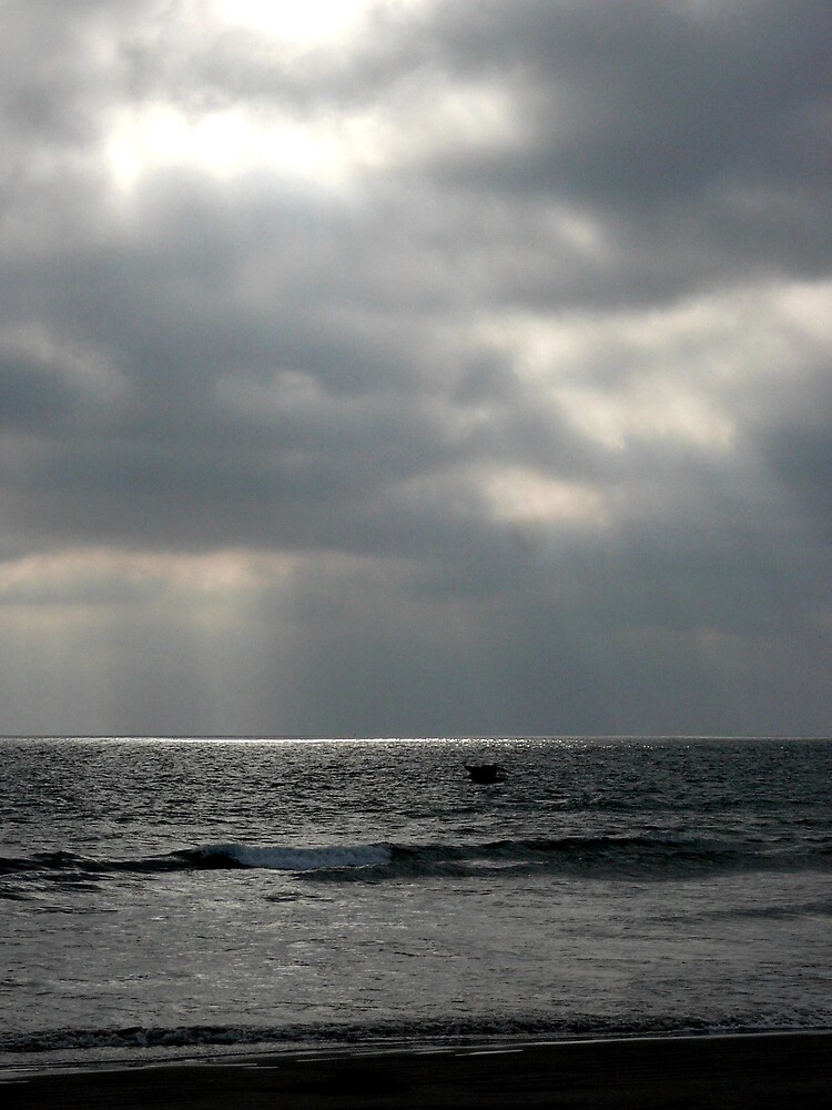 Reflection on the Ocean by Liz Wear