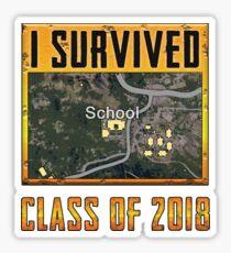 PUBG Graduate 2018 Sticker