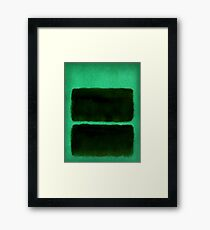 Dark in Space Framed Print