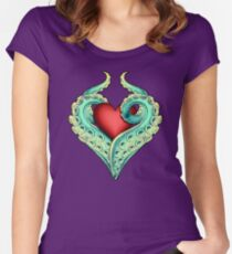 Tentacle Love Women's Fitted Scoop T-Shirt