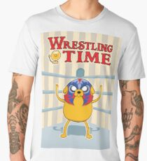 Wrestling Time Men's Premium T-Shirt