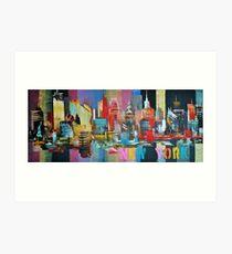 New York City Skyline 2016 0179 Art Print
