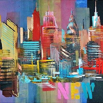 New York City Skyline 2016 0179 by artsale