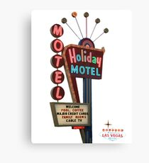 Motel Vegas Canvas Print