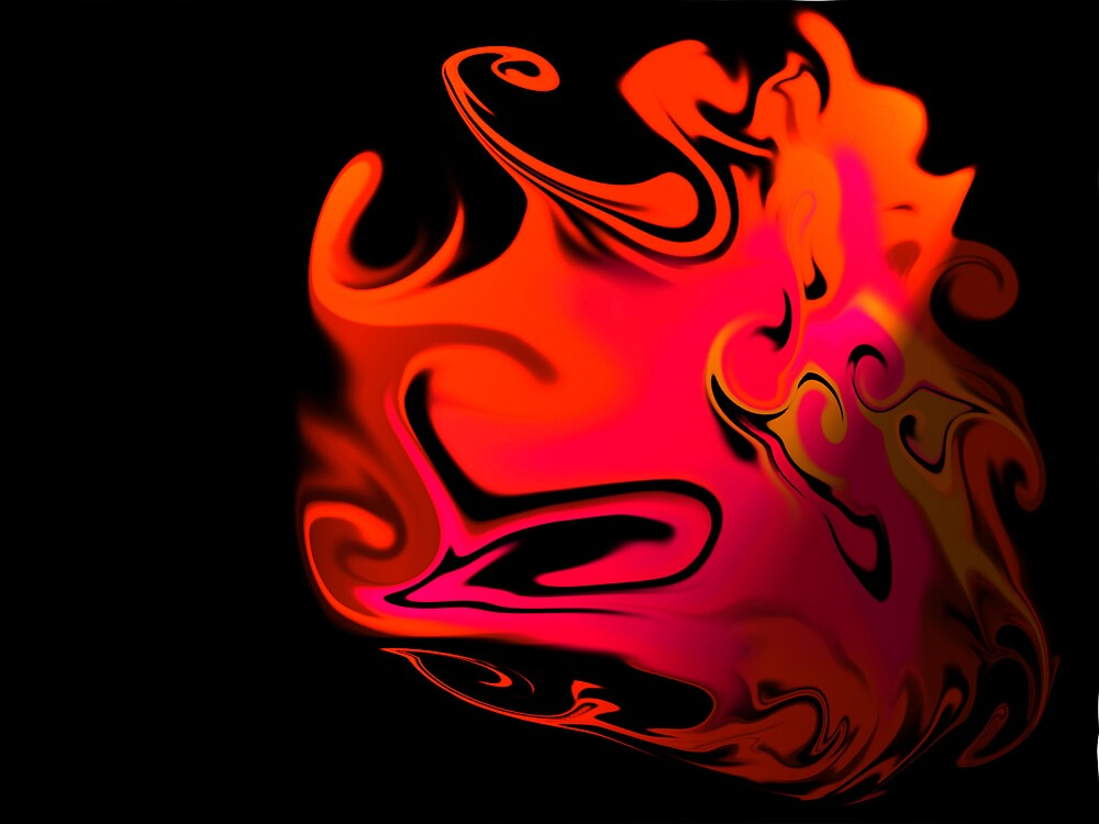 swallowing fire by weeble85