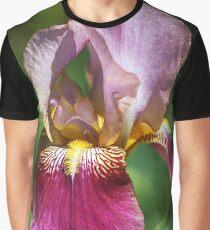 Bright and Glowing Iris Graphic T-Shirt