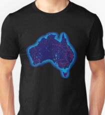 Australia by night Unisex T-Shirt