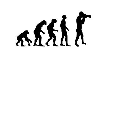 Photographer evolution by Davesconnect