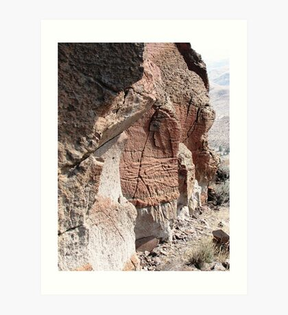An ignimbrite up close & personal Art Print
