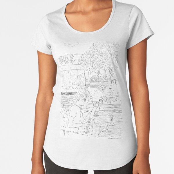 beegarden.works 005 Premium Scoop T-Shirt