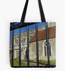 Saxony church Tote Bag