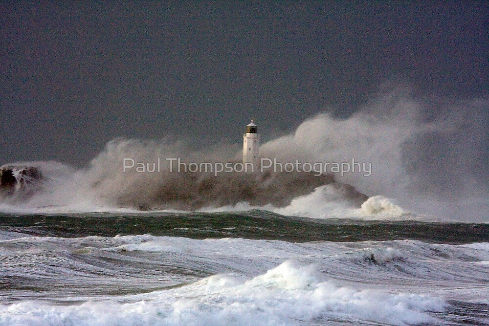 Godrevy Lighthouse 2 by Paul Thompson Photography