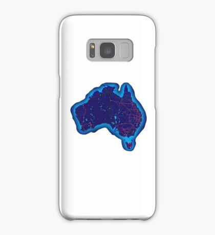 Australia by night Samsung Galaxy Case/Skin