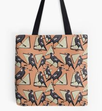 Magpies & Fairy Bread - Peach  Tote Bag