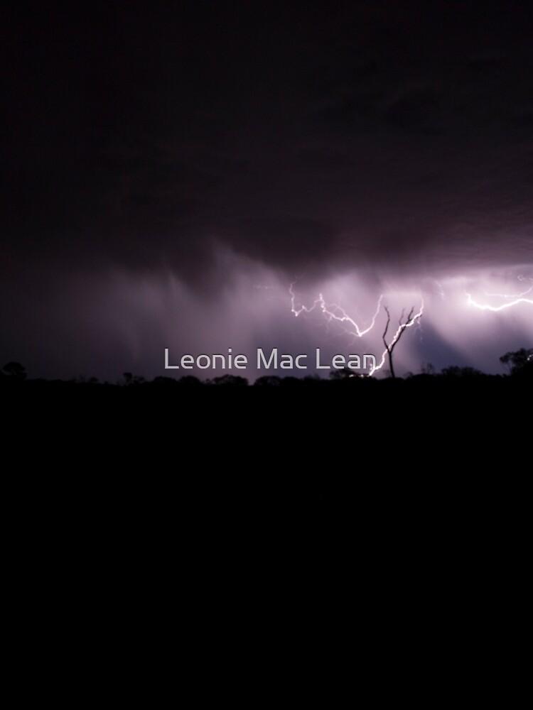 Desert Lightning, outback Australia. by yallmia