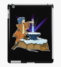 THE LIGHTSABER IN THE ROCK iPad Case/Skin