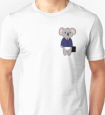 Business Koala (No Text) T-Shirt