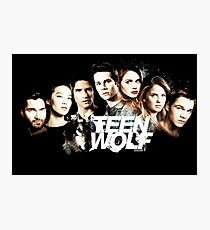 Teen Wolf American television series Photographic Print