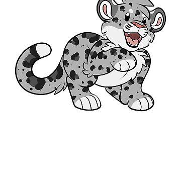 Snow Leopard by GatorBites