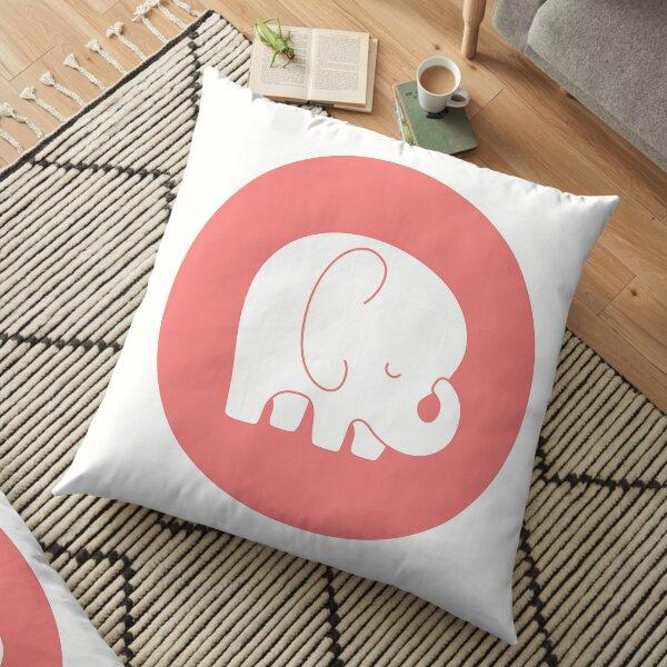 mod baby elephant Floor Pillow