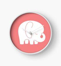 mod baby elephant Clock