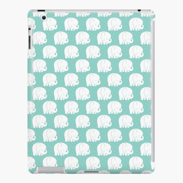 mod baby elephants mint iPad Snap Case