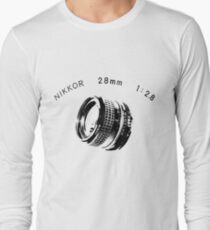 Nikkor 28mm Black T-Shirt