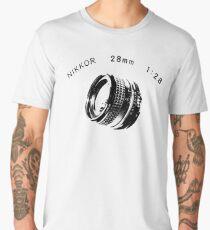 Nikkor 28mm Black Men's Premium T-Shirt