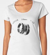 Nikkor 28mm Black Women's Premium T-Shirt