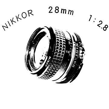 Nikkor 28mm Black by BKSPicture