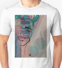 Moonlight Boy Abstract Illustration Unisex T-Shirt