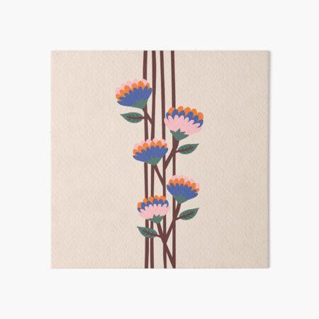 Henri Flowers Art Board Print