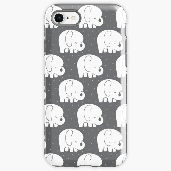 mod baby elephants grey iPhone Tough Case