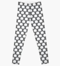 mod baby elephants grey Leggings