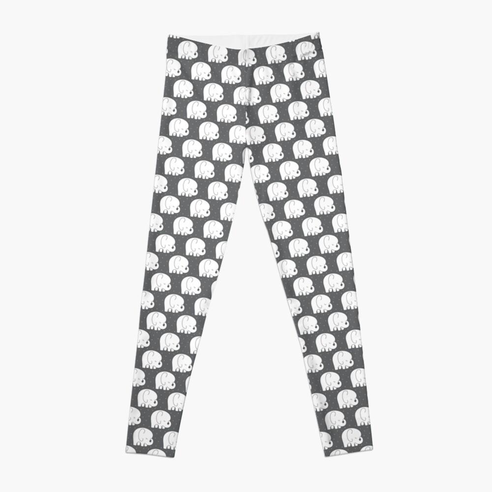 mod baby elephants grey Leggings