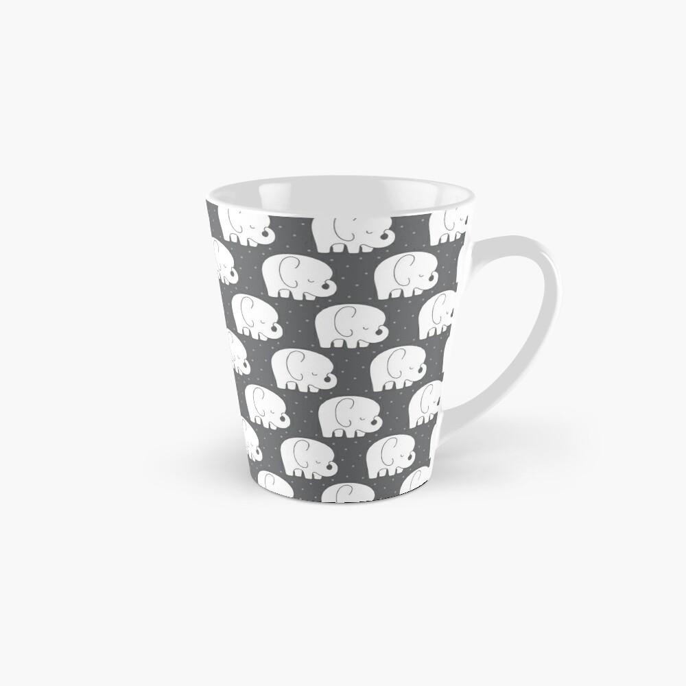 mod baby elephants grey Mug