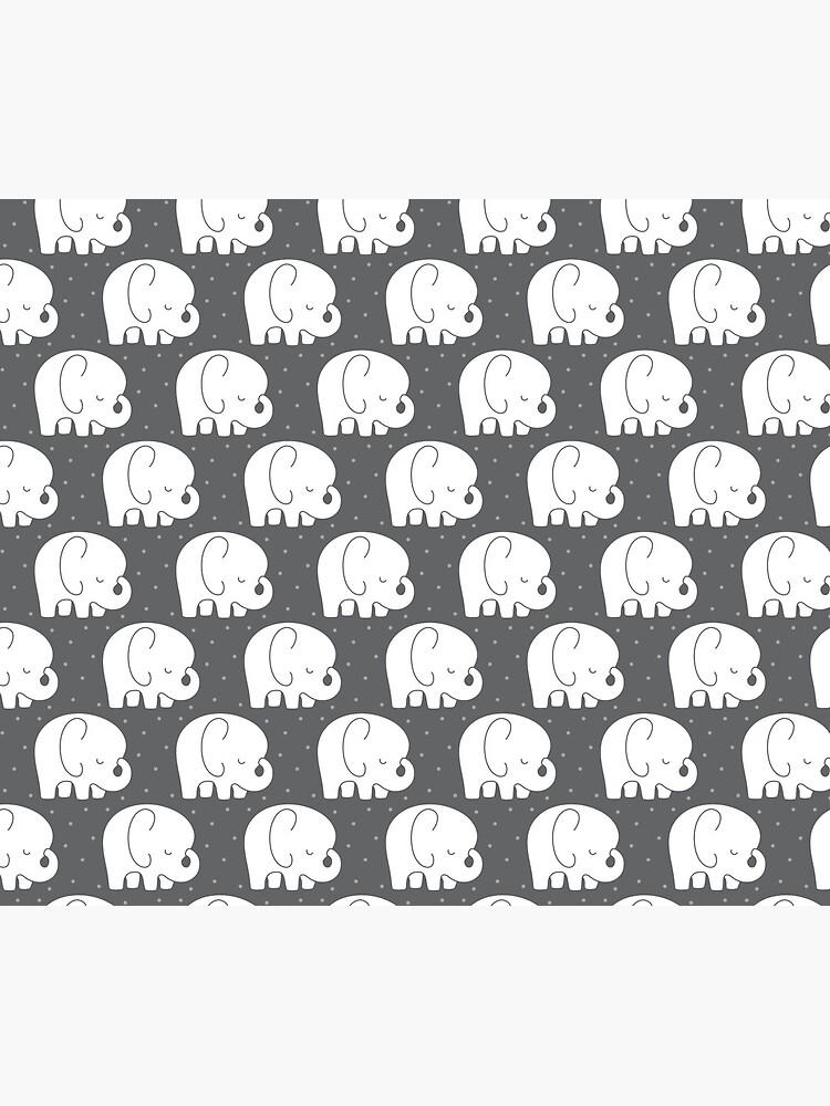 mod baby elephants grey by MissTiina