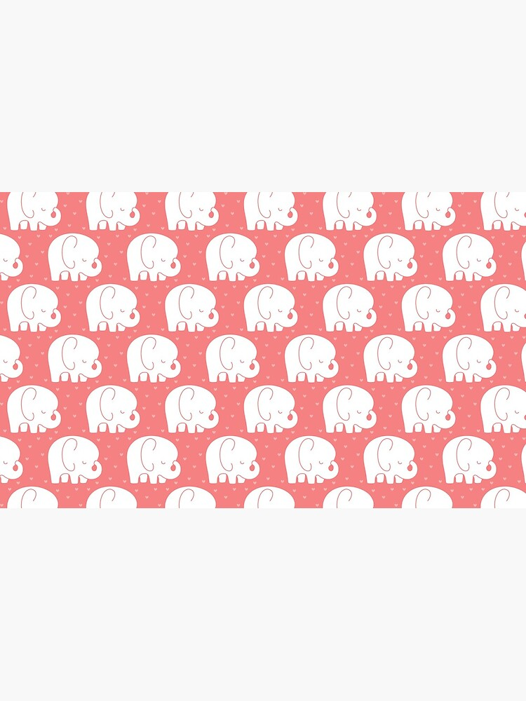 mod baby elephants coral by MissTiina