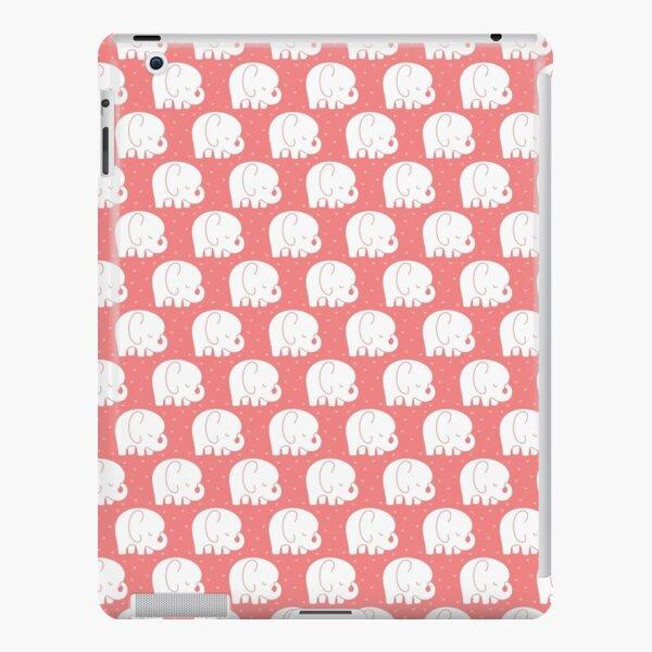 mod baby elephants coral iPad Snap Case