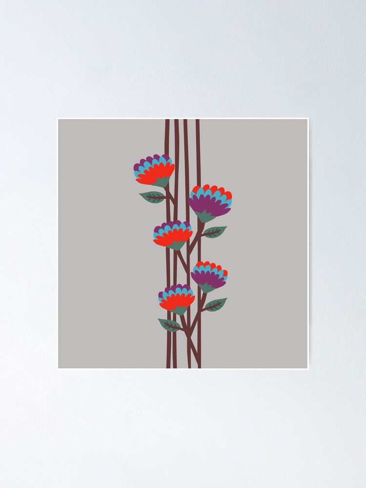 Alternate view of Émile Flowers Poster