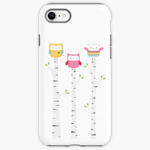 Treetop Owls iPhone Tough Case