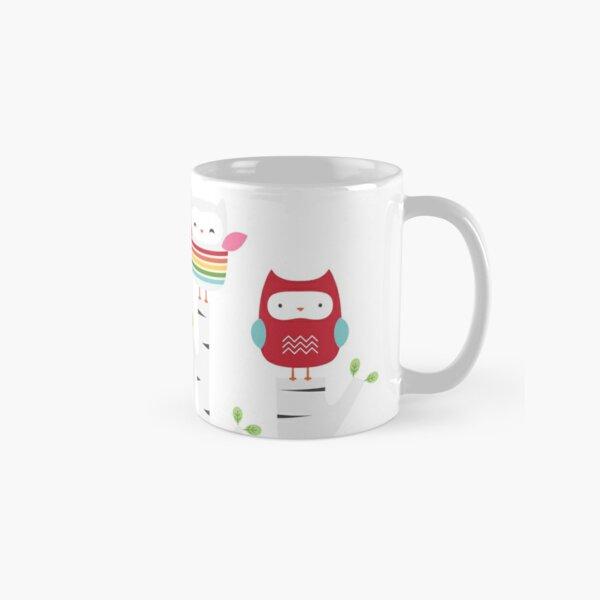 Treetop Owls Classic Mug