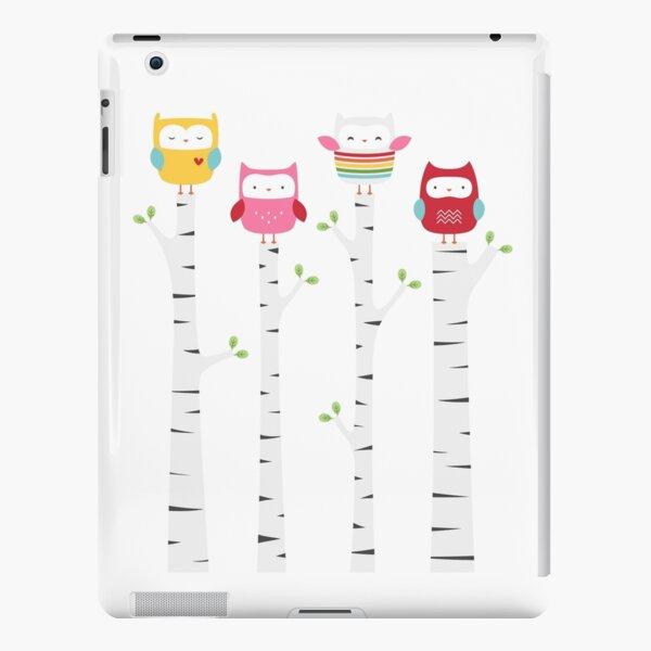Treetop Owls iPad Snap Case