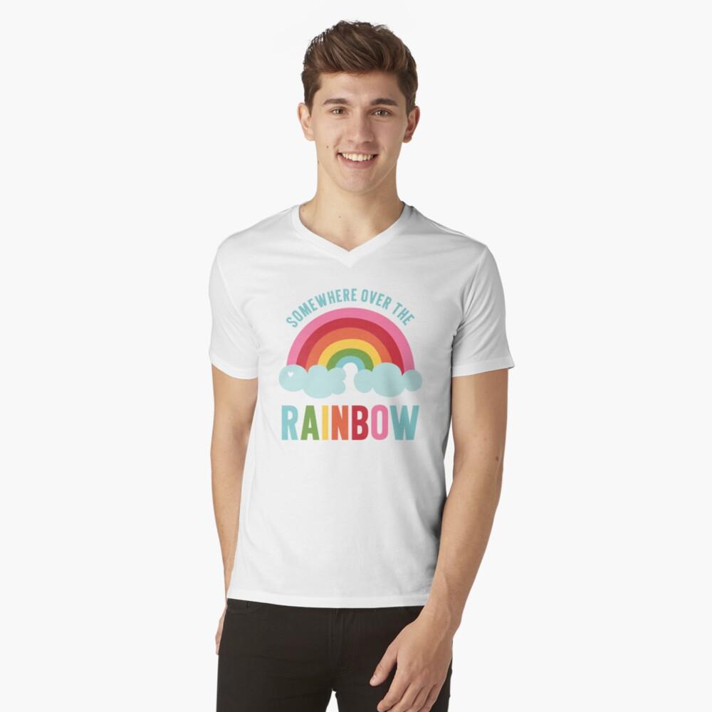 Somewhere Over the Rainbow V-Neck T-Shirt