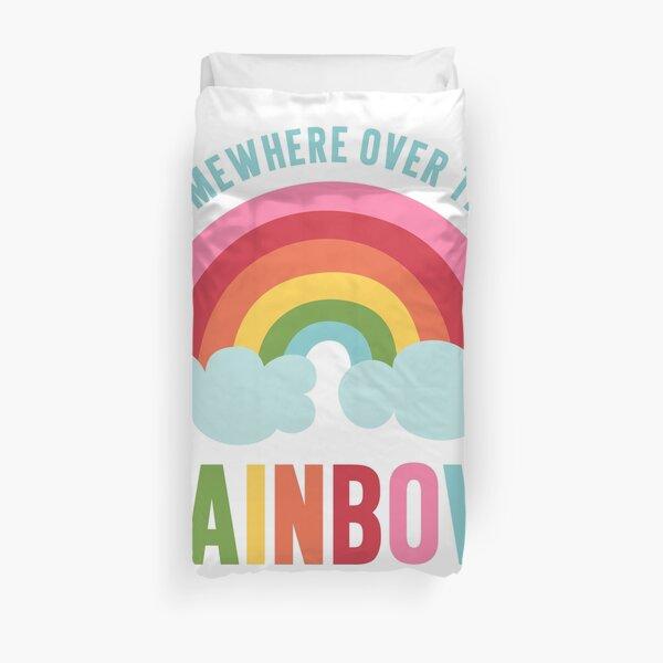Somewhere Over the Rainbow Duvet Cover