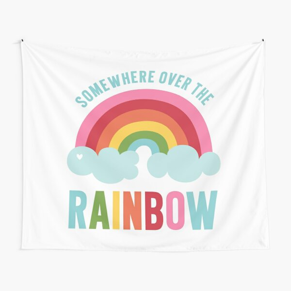 Somewhere Over the Rainbow Tapestry
