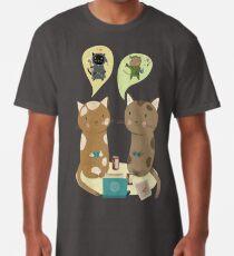 Geek Katzen Longshirt