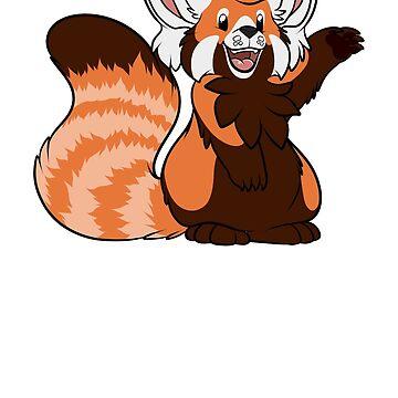 Red Panda by GatorBites