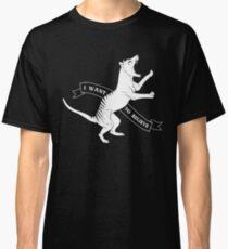 Tasmanian Tiger - ich möchte glauben Classic T-Shirt